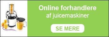 Online forhandlere af juicemaskiner