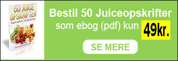 50 juiceopskrifter